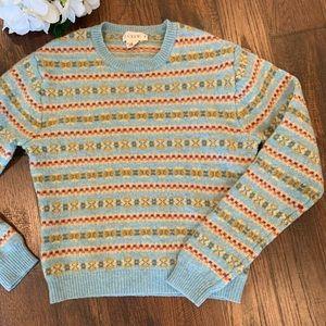 J.Crew 100% lambs Wool Fall Sweater.